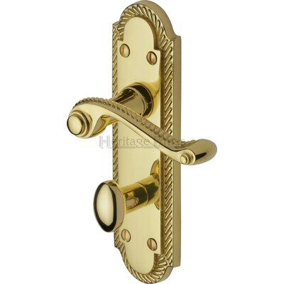 Heritage Brass Gainsborough Bathroom Door Handle