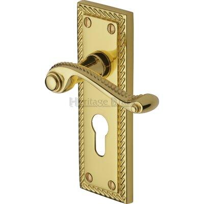 Heritage Brass Gainsborough Euro Profile Door Handle