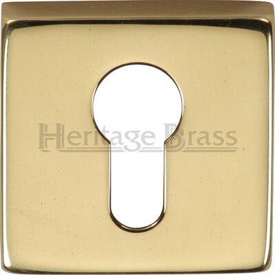 Heritage Brass Euro Profile Escutcheon