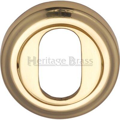 Heritage Brass 4.8cm Oval Profile Escutcheon