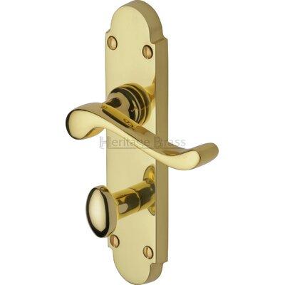 Heritage Brass Savoy Bathroom Door Handle