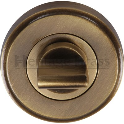 Heritage Brass 4.8 cm Thumb Turn and Release
