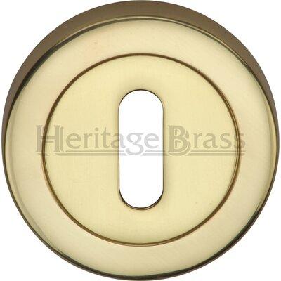 Heritage Brass 5.36cm Keyhole Escutcheon