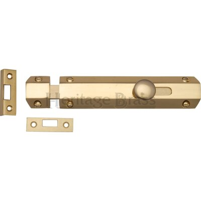 Heritage Brass Forged Flat Bolt