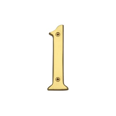 Heritage Brass Numeral Address Plate