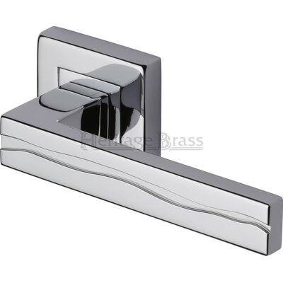 Heritage Brass Amazon Square Rose Door Handle