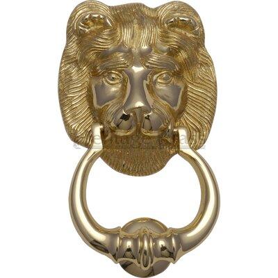 Heritage Brass Lion Knocker