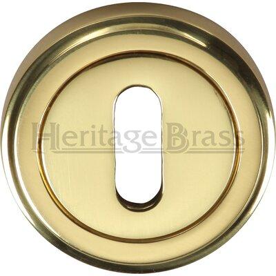 Heritage Brass 4.8cm Keyhole Escutcheon
