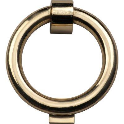 Heritage Brass 10.7cm x 10.7cm Ring Knocker