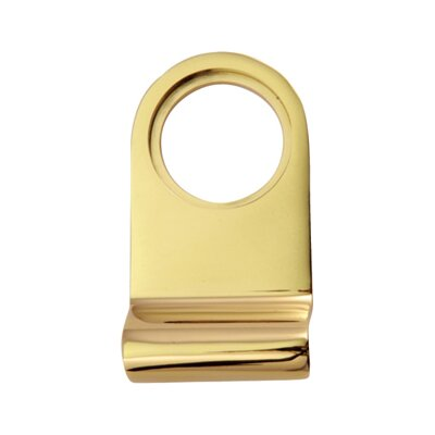 Heritage Brass Cylinder Pull in Everbrite