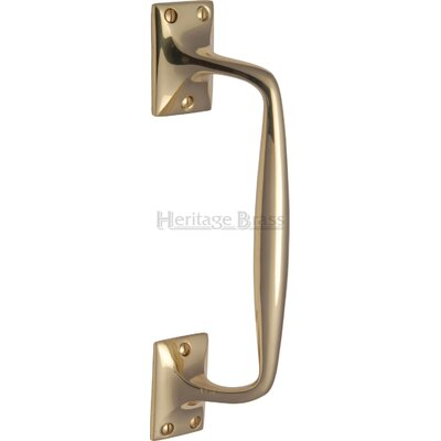 Heritage Brass Cranked Pull Handle