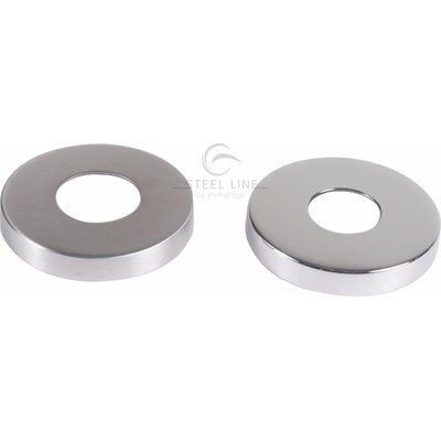 Heritage Brass Steel Line 0.8cm Concealed Fixing Pack