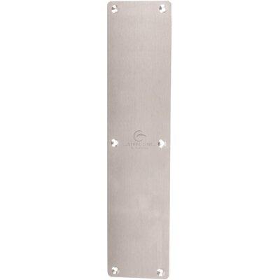 Heritage Brass Steel Line 33cm x 7.5cm Finger Plate