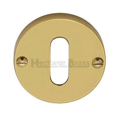 Heritage Brass Round Open Escutcheon