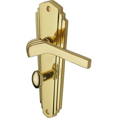 Heritage Brass Waldorf Bathroom Door Handle