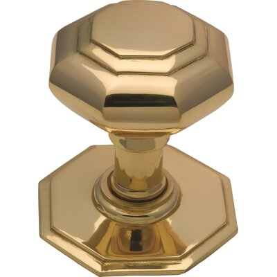 Heritage Brass Octagonal Center Door Knob