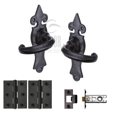 Heritage Brass Door Handle Kit
