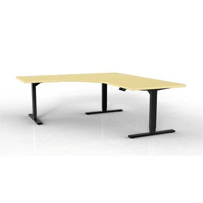 StandDesk Desk Leg Finish: Black