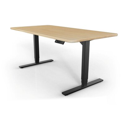 StandDesk Desk Base Finish: Black