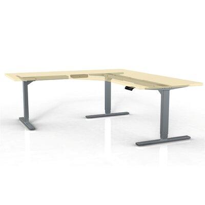 StandDesk Desk Leg Finish: Gray