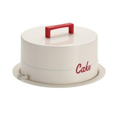 Cake Boss 38cm Tin Plated Steel Cake Carrier