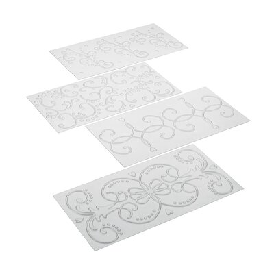 Cake Boss 4 Piece Fondant Imprint Mat Set