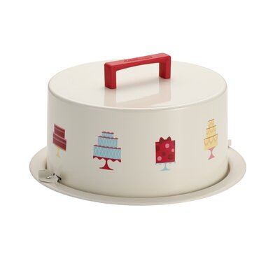 Cake Boss 38cm Tin plated Steel Cake Carrier