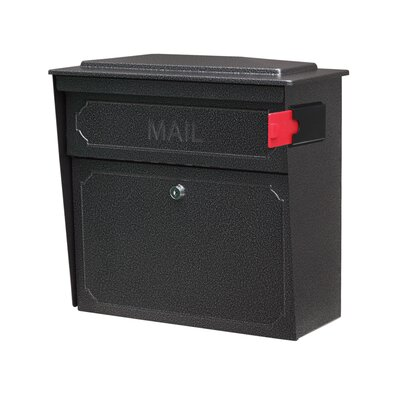Townhouse Locking Wall Mounted Mailbox Mailbox Color: Galaxy