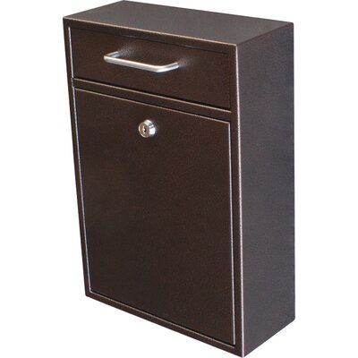 Locking Wall Mounted Mailbox Color: Bronze