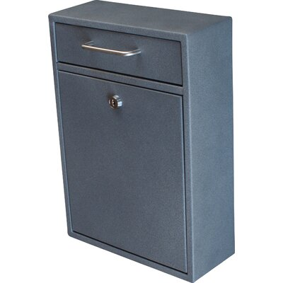 Locking Wall Mounted Mailbox Color: Granite