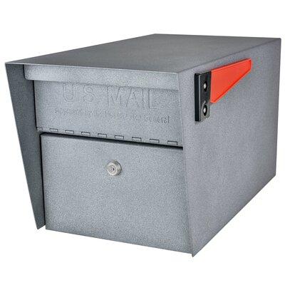 Mail Manager Locking Post Mounted Mailbox