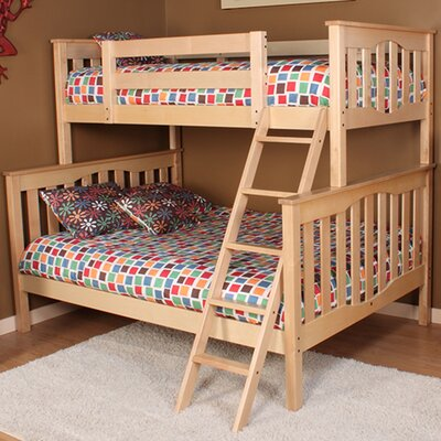 Seneca Twin over Full Bunk Bed Color: Natural Birch