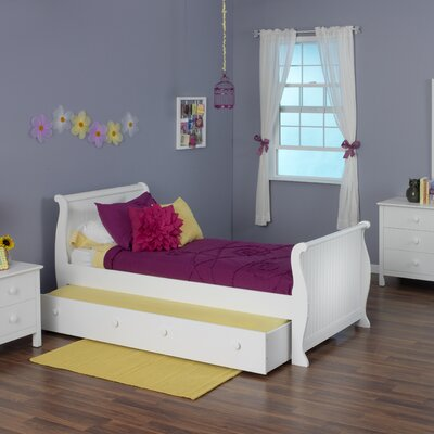 Dakota Sleigh Bed Size: Twin with Trundle