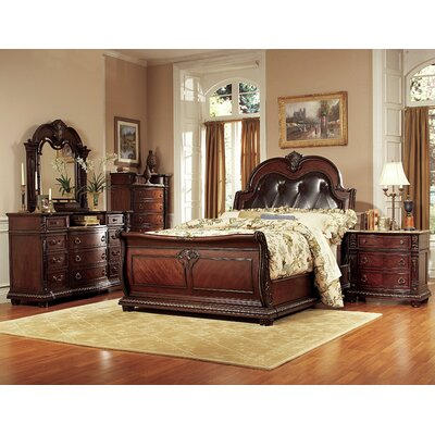 Woodhaven Hill Palace Upholstered Panel Bed