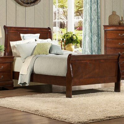 Mayville Sleigh Bed Size: King