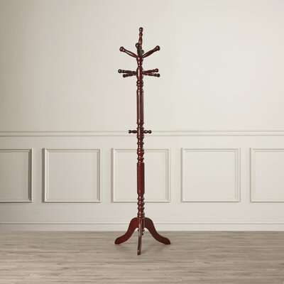 5333 Series Super Deluxe Coat Rack Finish: Cherry