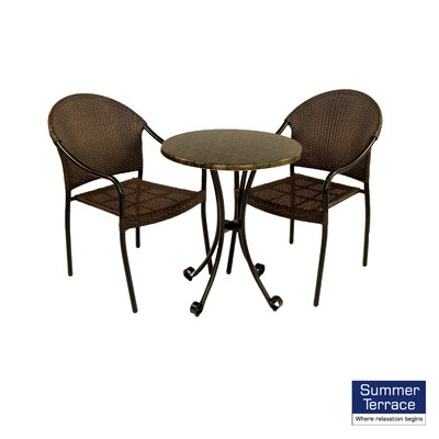 Summer Terrace Fleuretta Bistro Table