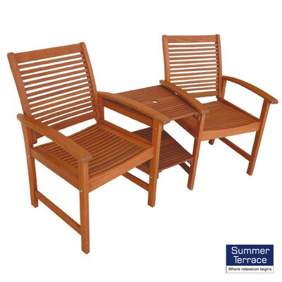 Summer Terrace Tornio 2 Seater Bench