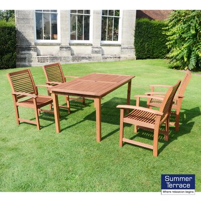 Summer Terrace Tornio 4 Seater Dining Set