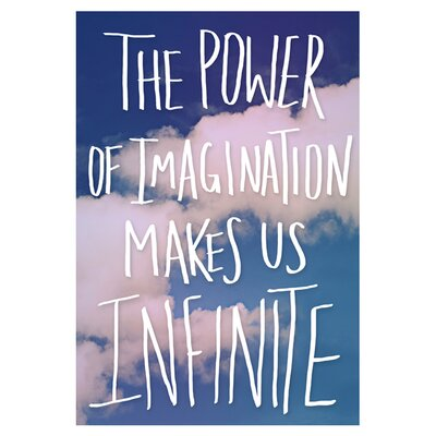 East End Prints Imagination by Leah Flores Typography