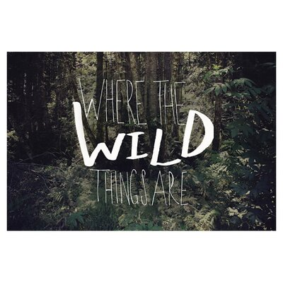 East End Prints The Wild Things by Leah Flores Photographic Print