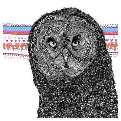 East End Prints Twit Twoo by Fred and Elsie Graphic Art