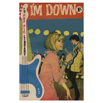 East End Prints I'm Down Art Print