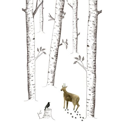 East End Prints Little Forest by Dear Prudence Graphic Art