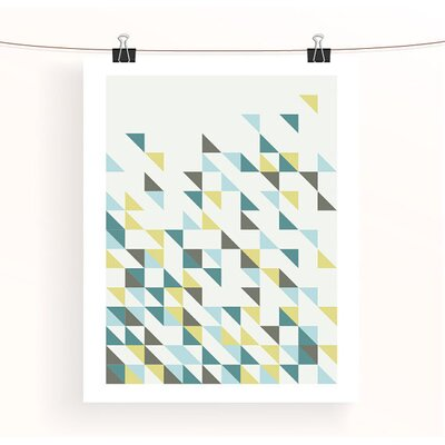 East End Prints Triangles 1 by Aiza Cheung Graphic Art