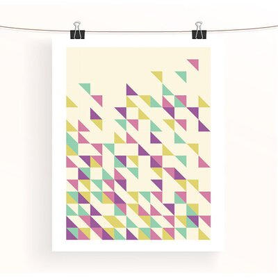 East End Prints Triangles 2 by Aiza Cheung Graphic Art
