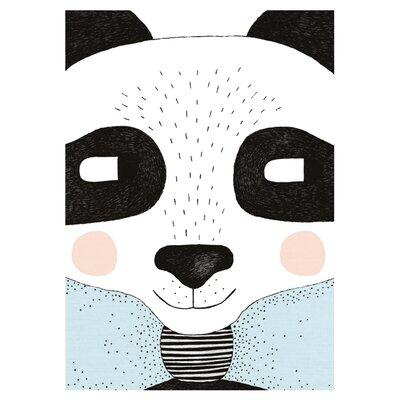 East End Prints Big Panda by Seventy Tree Graphic Art