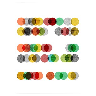 East End Prints Abacus by Francesca Iannaccone Graphic Art