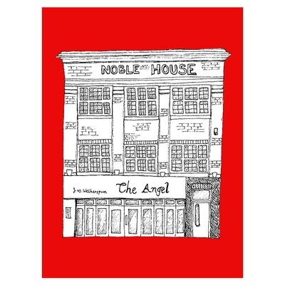 East End Prints The Angel by Fiona Watson Graphic Art