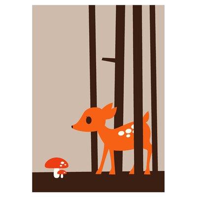 East End Prints Little Deer by Dickie Graphic Art